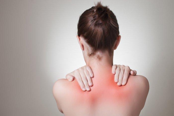 Sunburn - skin damage